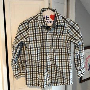 Osh kosh button down shirt